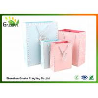 Quality Fashionable Coated Printed Paper Gift Bags with Different Sizes for Customization wholesale