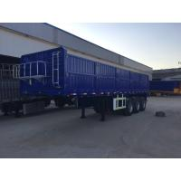 Quality Dongfeng 3 Axle Side Wall Semi Trailer / Cargo Semi Trailer With Capacity 50T FUWA Axle wholesale