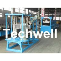 Quality 17 Forming Stations Stationary K Span Roll Forming Machine With PLC wholesale
