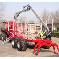Quality tractor with crane and forestry Log trailer with competitive prices wholesale