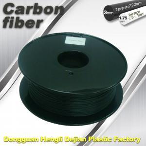 Quality CarbonFiber 3D Printing Filament  .Black Color,0.8kg / Roll ,1.75mm 3.0mm wholesale