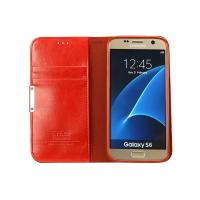 Quality Professional Samsung Galaxy S6 Protective Case Shockproof Red Color With Stand Functional wholesale