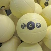 China Rubber medicine balls, various colors and designs are available on sale