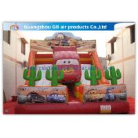 China Cartoon Giant Commercial Water Slip And Slide Inflatable Toys For Adults And Kids on sale