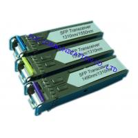Cheap Bi - Di Gigabit Ethernet Transceiver , Small Form-Factor Pluggable Optical Transceiver for sale