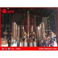 Cheap industrial alcohol membrane automatic distillation column process for sale