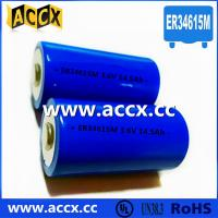 Quality Primary Lithium/ER Battery with 3.6V Voltage and 19Ah Capacity er34615 wholesale