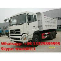 hot sale dongfeng dalishen 6*4 LHD 20cubic dump truck, factory direct sale dongfeng brand 20tons-30tons tipper truck