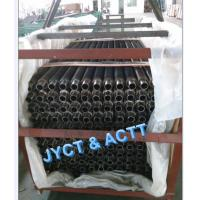 Cheap Alloy / Steel Sprial Settated Fined Tube , Solid Power Plant Fin Tube OD X 2.9 MWT X 1660mm LG for sale