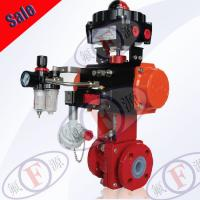 Quality PFA ball valve with Pneumatic Actuator wholesale