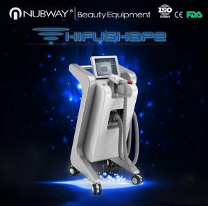 Quality newest tech ultrasound cavitation vertical HIFUSHAPE body slimming machine wholesale