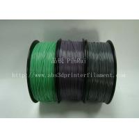 Quality Custom Color Changing abs and makerbot pla filament 1.75 / 3.0mm Grey to white wholesale