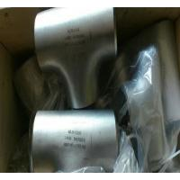 Quality ASTM A815 UNS S32750 2507 Seamless Equal Tee wholesale
