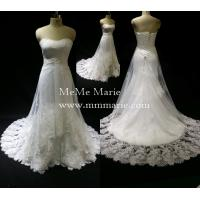 Quality Bridal Gown Lace Fabric Open Back Sweetheart Kleinfeld Wedding Dresses Design BYB-14502 wholesale