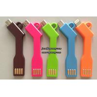 China KeyChain Micro USB Cable Charger Data Sync Key chain Charging Micro USB Cable Cord Line on sale
