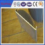 Quality aluminium profile extrusion heat sink,anodized aluminum alloy profile manufacturer,OEM wholesale