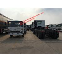 China 4ton Light Commercial Trucks Howo 4x2 Light Cargo Truck Chassis ZZ1047D3414C145 on sale