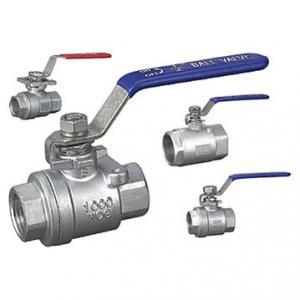 full port ball valves