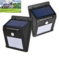 Quality SMD2835 * 8pcs Solar Sensor Outdoor Lights For Patio / Deck High Illumination wholesale