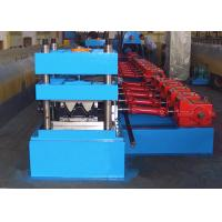 Quality W Profile Guardrail Panel Roll Forming Equipment Panasonic PLC System Controlled wholesale