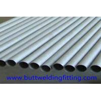 Quality Round Nickel Alloy Hastelloy Pipe 2 - 10m Length High Hardness For Chemical Industry wholesale