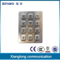 Quality Vandal-proof metal pinpad for ATM and kiosk with interface USB keypad B880 wholesale