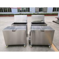 Quality Kitchen Hood Stainless Steel Soak Tank Degreasing / Cleaning Insert Filters 110 / 230V 50Hz wholesale