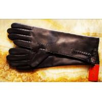 China women leather glove on sale