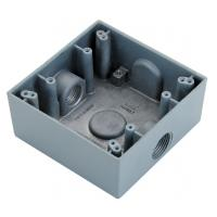 "Quality Square Watertight / Waterproof Electrical Box 1/2"" 3/4"" Size To Protect Conductors wholesale"