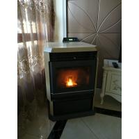 Quality Easy Operation Corner Pellet Stove / Wood Burning Pellet Stove Combined wholesale