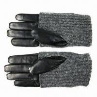 Quality Ladies gloves with knitting wholesale