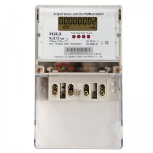 Digital Single Phase Energy Meter