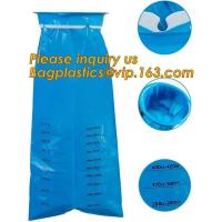 Quality emesis vomit bag disposable,Used for hospita/ travel /airplane/ disposable blue plastic vomit bag with ring Medical Emes wholesale