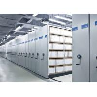 Quality Spacesaver Library high density Mobile File Shelving Racking System wholesale