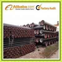 Quality ISO2531 EN545 Ductile Iron Pipe DN80-1200 T type K9 wholesale