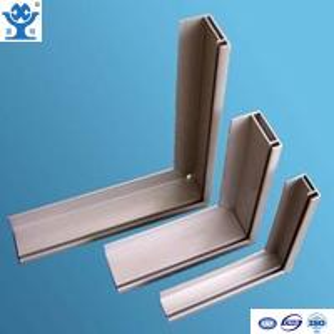 China Silver anodized matt aluminum extrusion solar panel frame on sale