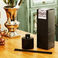 Buy cheap 200ml Air freshener eco-Friendly aroma reed diffuser painting black from wholesalers
