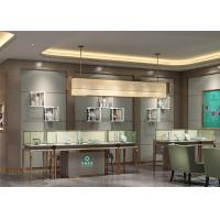 Cheap Luxury Modern Jewelry Shop Display Cabinets / Jewellery Showroom Furniture for sale