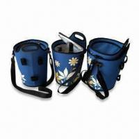 Quality Bottle Cooler Bags with One Compartment and Adjustable Strap, Measures 24 x 24 x 39cm wholesale