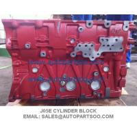 Quality HINO J05E Cylinder Block For SK200-8, SK250-8 Kobelco Excavator Digger Mantenance wholesale