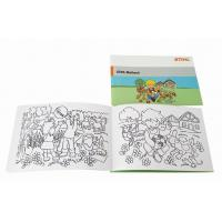 China A5 Childrens Coloring Books Black Printed Drawing Saddle Stitch Bound on sale