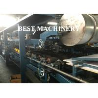 China PU Rock Wool EPS Continuous Sandwich Panel Making Machine PLC Control System on sale