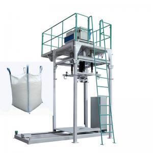 China Wholesale price 300-2000kg jumbo bag sand urea packaging machine with 15-30 bag/hour on sale