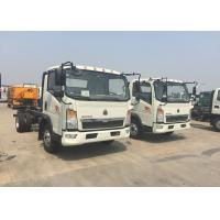 Quality 12 Tons HOWO Light Duty Commercial Trucks White Color 116HP Engine 4×2 Drive wholesale