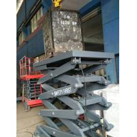 China 415V Voltage Stationary Hydraulic Lift Table With Manual Decline Valve Protected on sale