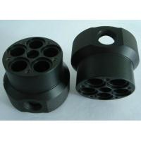 Cheap custom black abs machined plastic parts by material