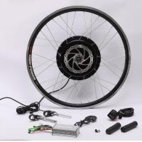 Cheap 48v 1500w Speed 50-60 Km/H Hub Motor Kit , Electric Bike Kit With Battery Weight 11.5Kg for sale