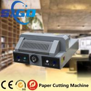 Buy cheap SG330 desktop electric paper cutting machine paper guillotine paper cutter 320mm cutter product
