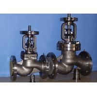 China BB-BG-OS&Y Bellow Globe Valve Gear Pneumatic DIN3356 BW  Hasteloy Out Blowing Safe Stem on sale