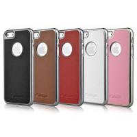 Quality Comma Leather Case for iPhone5 (ST-P-0572) wholesale